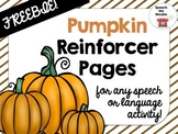 Pumpkin Reinforcer Pages