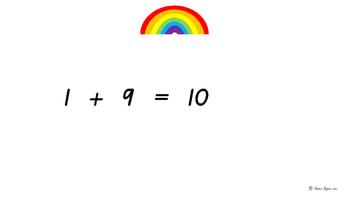 ***FREEBIE***Rainbow Fact Warm-up