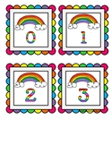 *FREEBIE* Rainbow Quantity Matching Cards