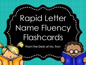 **FREEBIE** Rapid Letter Name Fluency Flashcards GREAT FOR GUIDED READING!