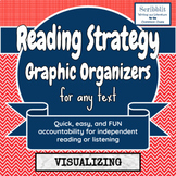 *FREEBIE* Reading Strategy Graphic Organizer: Visualizing