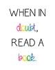 *FREEBIE* Reading posters