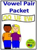 *FREEBIE* Review OO, UE, and EW Words - Worksheets