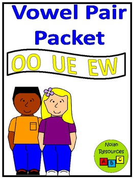 *FREEBIE* Review OO, UE, and EW Words - Worksheets