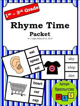*FREEBIE* Rhyme Time Packet
