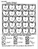 *FREEBIE* Roll and Color BACK TO SCHOOL BINGO:  Notation