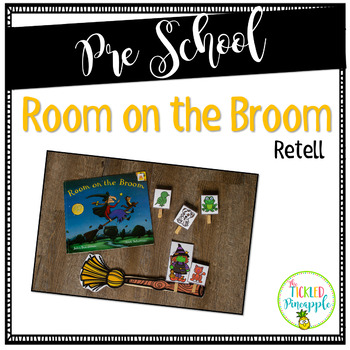 ~FREEBIE~ Room on the Broom Interactive Retell