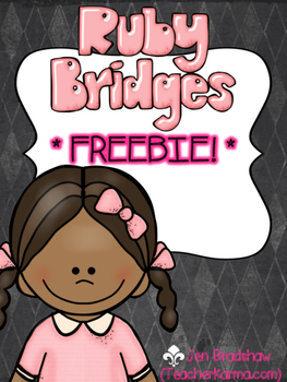 FREEBIE} Ruby Bridges NO PREP Printables ~ Black History Month | TpT
