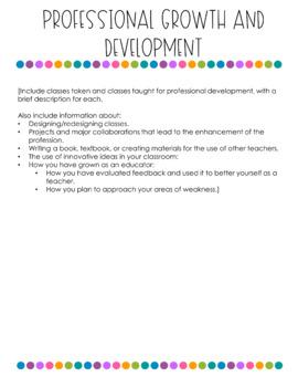 [FREEBIE] Sample Resume and Portfolio Pages