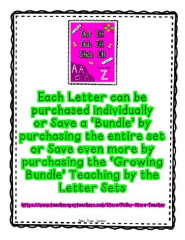 { FREEBIE } Sampler for Alphadot Letter Dot It! Dab It! Stick It! Worksheets