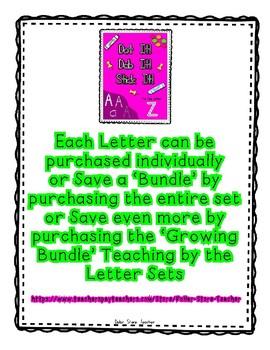 { FREEBIE } Sampler for Alphadot Letter Dot It! Dab It! Stick It! Worksheets