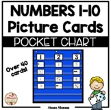 Pocket Chart Center - Numbers (1-10) Picture Cards Sort