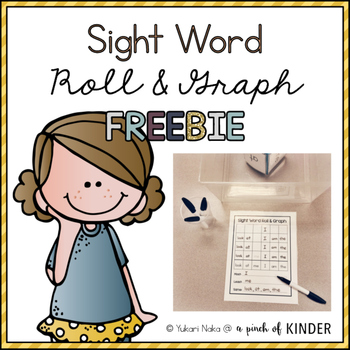 {FREEBIE} Sight Word Roll & Graph