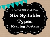**FREEBIE** Six Syllables Reading Posters RUSTIC FARMHOUSE