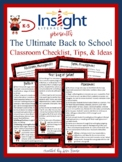 The Ultimate Back to School Checklist, Tips, & Ideas for Teachers