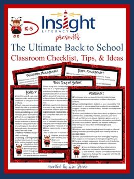 {FREEBIE} Smart Start Back to School Checklist, Tips, & Ideas