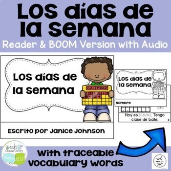 *FREEBIE* ~ Spanish Days of the Week Readers {Los días de la semana}