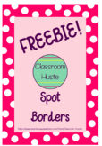 *FREEBIE* Spotty Borders/Frames 4pack