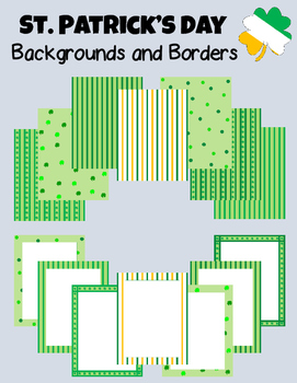 {FREEBIE} St. Patrick's Day Backgrounds and Borders