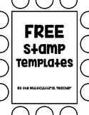 *FREEBIE* Stamp Templates