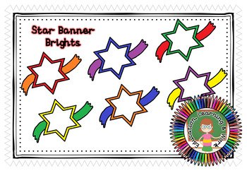 *** FREEBIE *** Star Banner Brights