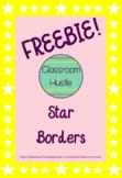 *FREEBIE* Star Borders/Frames 4pack