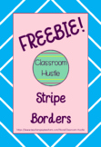 *FREEBIE* Stripe Borders/Frames 4pack