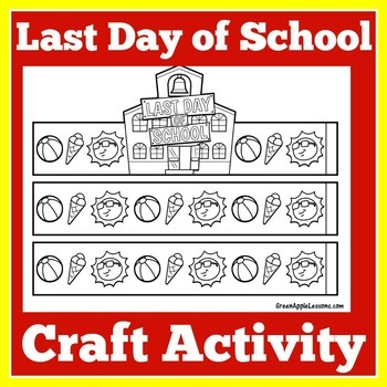 Last Day of School Crown   Last Day of School Craft