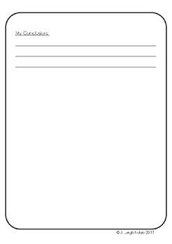 *FREEBIE* - Temperature Change Sheet