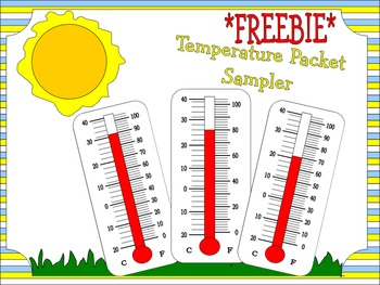 *FREEBIE* Temperature & Thermometer Packet Sampler