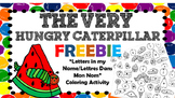 {FREEBIE: The Very Hungry Caterpillar by Eric Carle - Lett