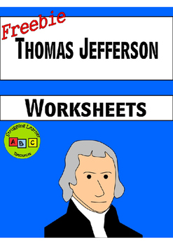 *FREEBIE* - Thomas Jefferson Worksheets