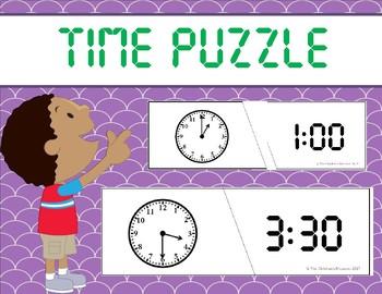 **FREEBIE** Time Puzzle