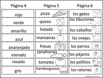 **FREEBIE** Todo acerca de mi Spanish All About Me Build-A-Book {en español}