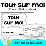 **FREEBIE** Tout Sur Moi French All About Me Build-A-Book