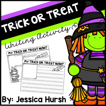 **FREEBIE** Trick or Treat Night Writing Activity