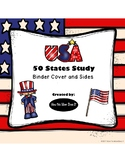 ** FREEBIE ** USA Fifty States Unit Study - Binder Cover and Sides