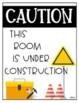 **FREEBIE** Under Construction Sign