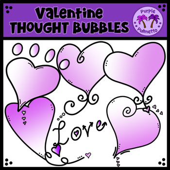 {FREEBIE} Valentine Thought Bubble Clipart
