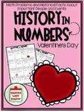 {FREEBIE} Valentine's Day - History In Numbers Printable