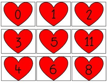 Multiplication Game | Valentine's Day themed | Freebie