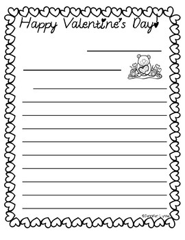 *FREEBIE*- Valentine's Day- WRITING TEMPLATE!