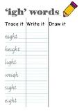 "*FREEBIE* Vic Modern Cursive - Handwriting - ""i_"" words"