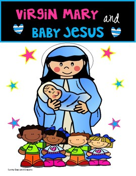 {FREEBIE} Virgin Mary and Baby Jesus