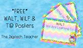 *FREE* WALT - WILF - TIB Posters