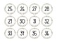 *FREEBIE* White Wood Numbers