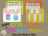 {FREEBIE} Bulletin Board for Better Hearing & Speech Month (BHSM)!
