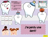 (FRENCH) Lost Tooth Bundle Including Monthly Posters and C