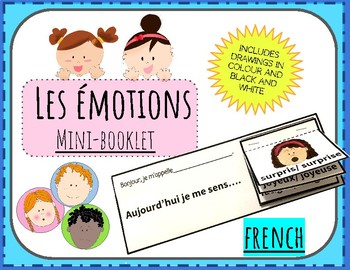 (FRENCH) Mini-Booklet: Les émotions