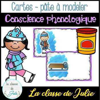 ☀️FRENCH☀️ Winter Phonological Awareness - atelier de son initial - hiver
